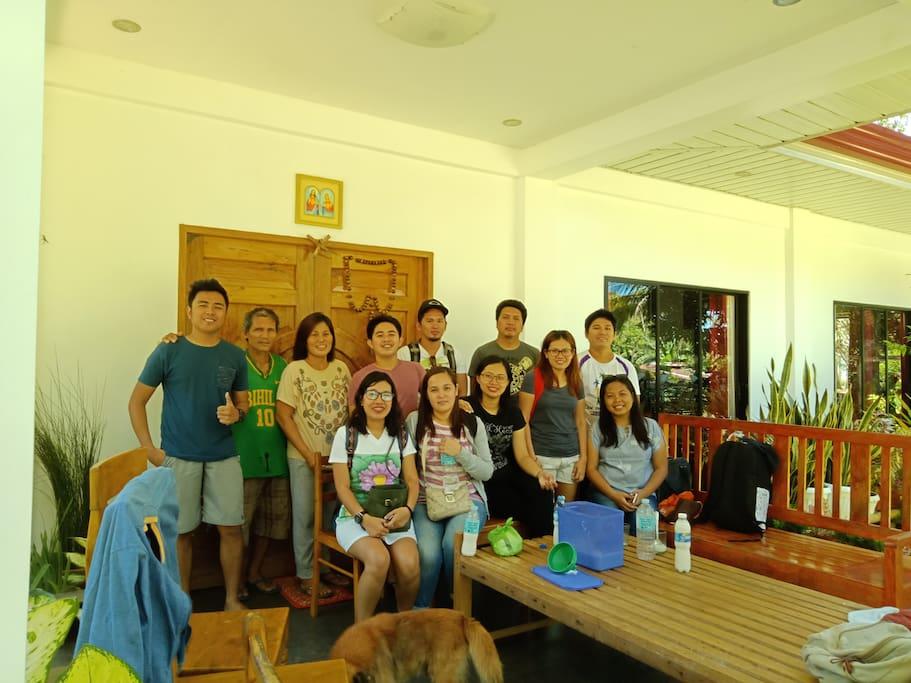 Cebu guests.