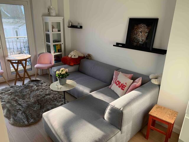 Modernes zentrales Apartment Alsternähe Winterhude