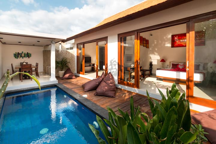 Clean Cozy and Comfortable two bedroom villas