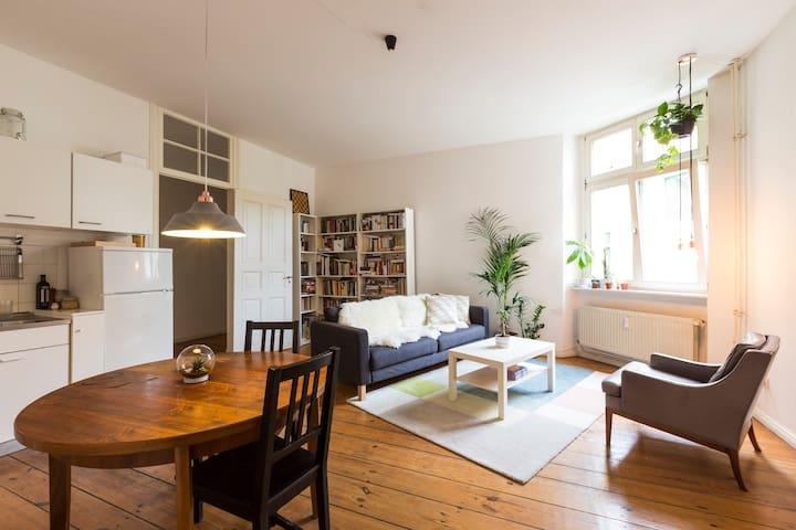 Bright & Spacious Creative Flat Artist Area - Berlin - Apartment