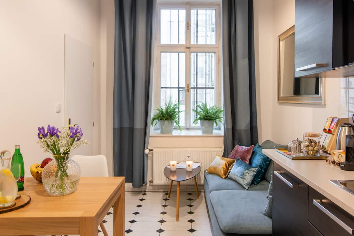 Old World Style Meets Modern Luxury in Malá Strana Apartment