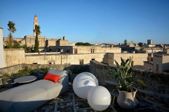 Casa di charme con terrazza - centro storico Lecce