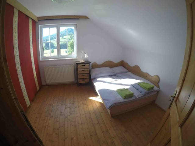 BA: cozy double bedroom-lovely house with garden