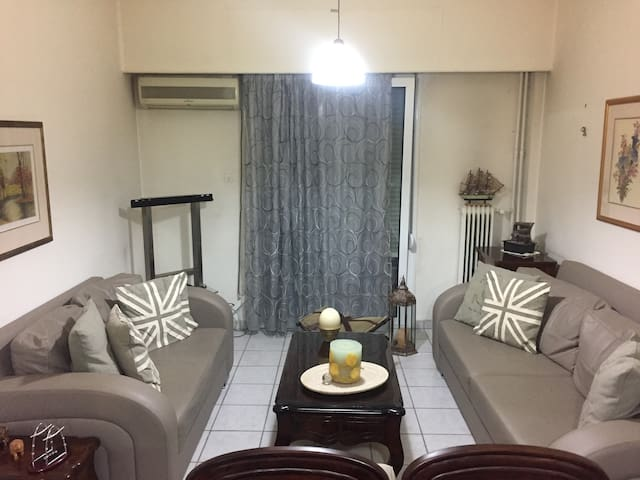 Classic 2 bdrm apartment in the heart of Athens - Galatsi - Apartment