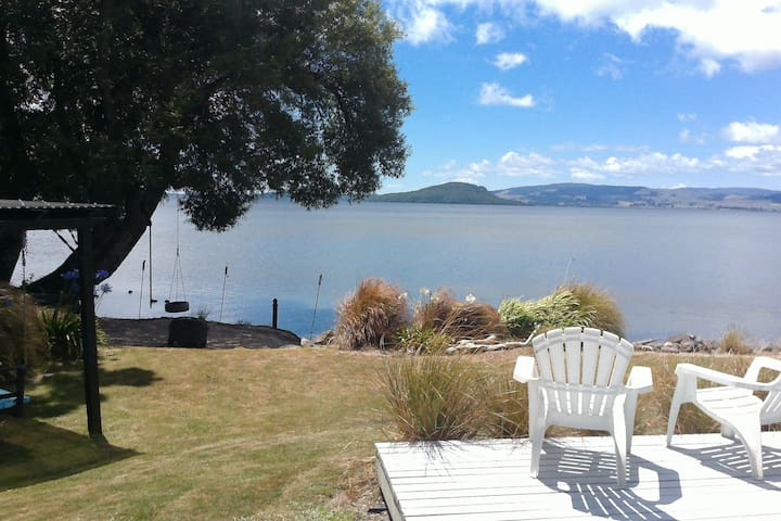 Clean & tidy guest house with lake access - Rotorua - Casa de huéspedes