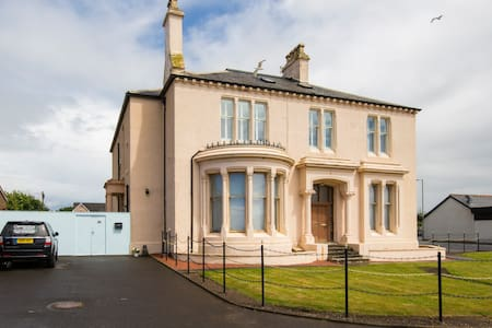 Double room with side sea view Ardrossan seafront - Ardrossan  - Apartment