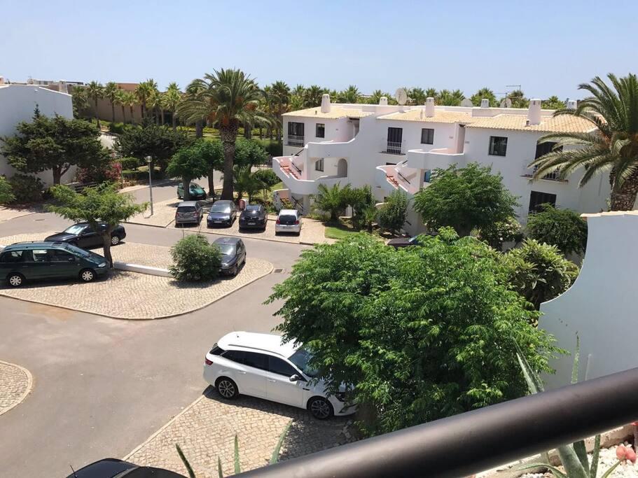 Private parking of the condominium
