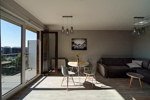 Apartament City View 2 od WroclawApartament-pl