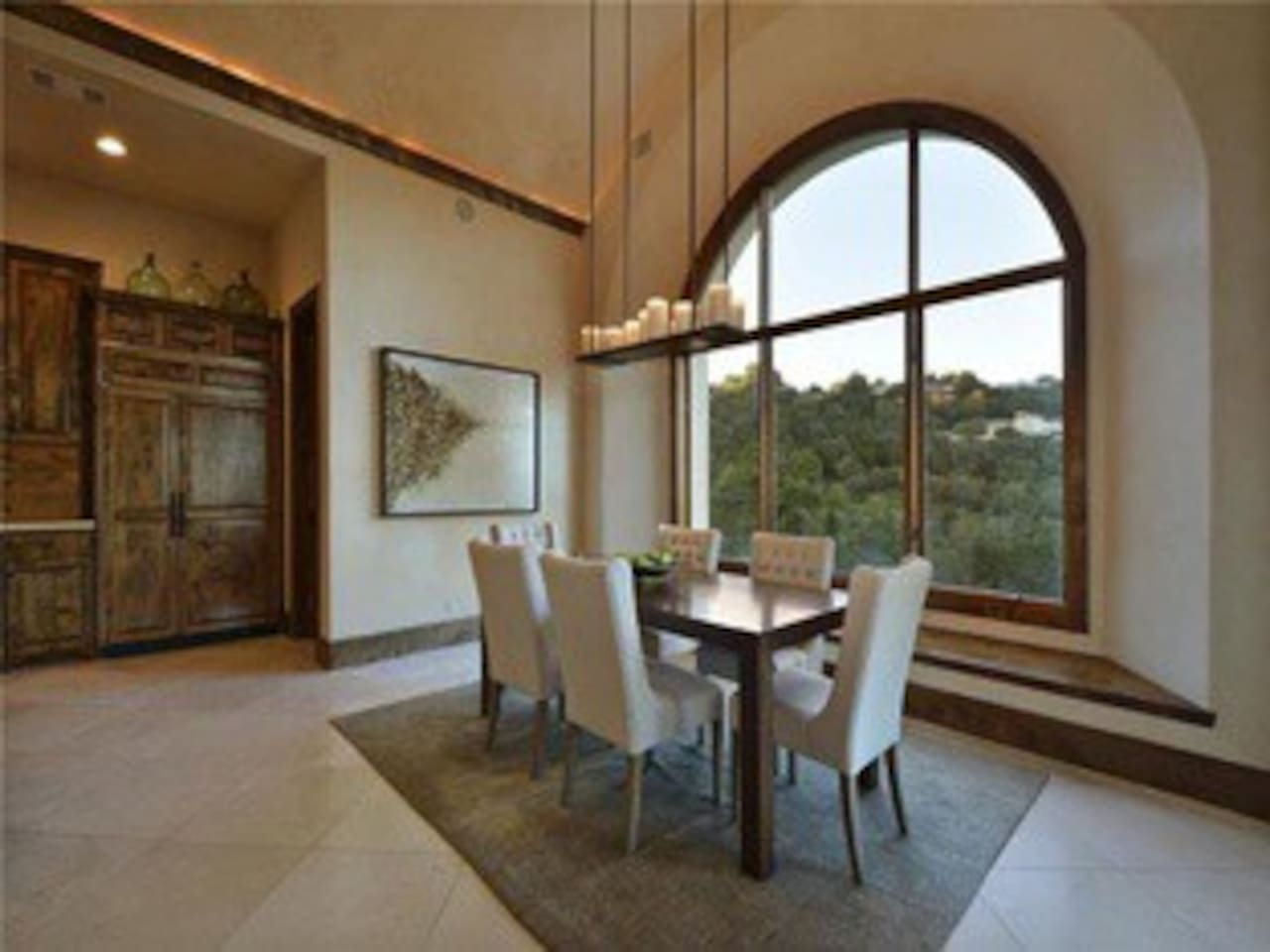Kitchen Table with Views