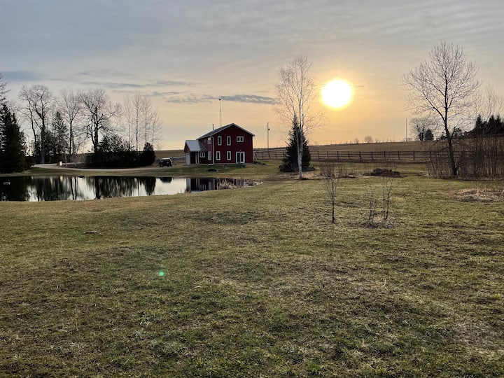 Peaceful Getaway on 25 Acres - its all yours!