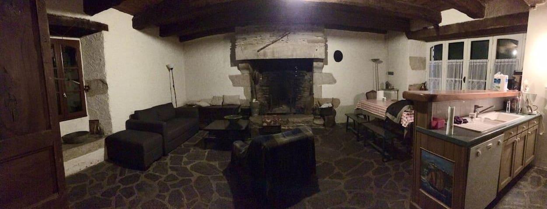 Maison du XVIIIème à Billiers