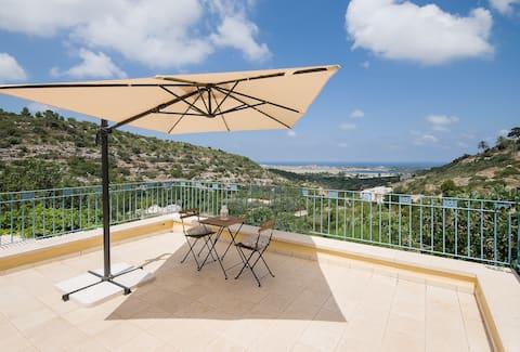 ARTSEA Studio Apartment with sea view