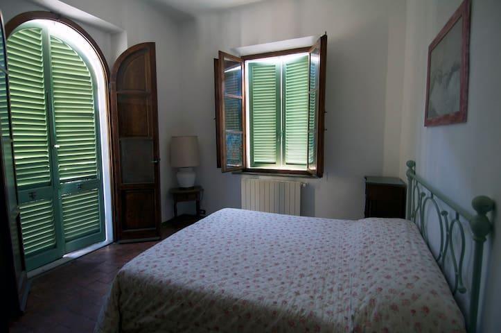 Camera padronale con balcone vista Terme