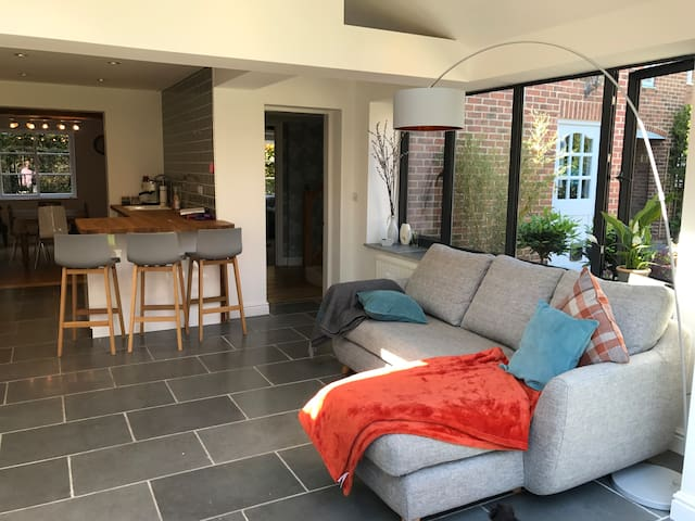 Gorgeous family house in Southwell.