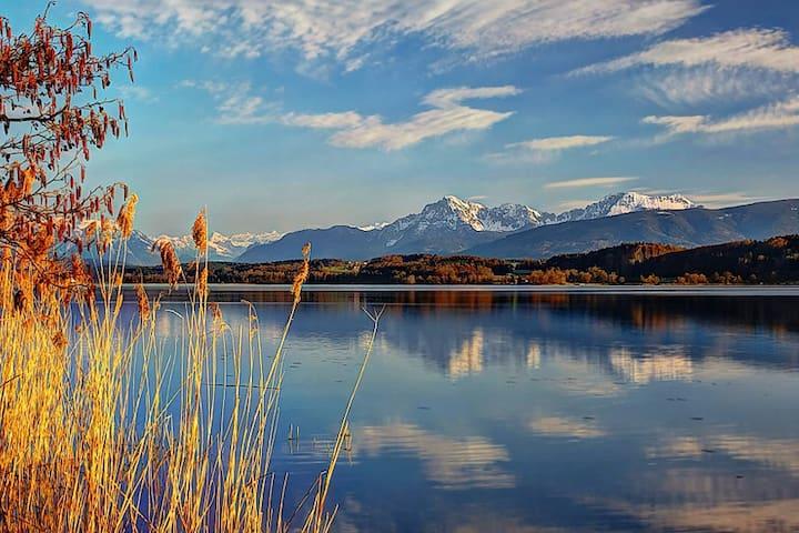 Urlaub am wärmsten See in OBB am Waginger See