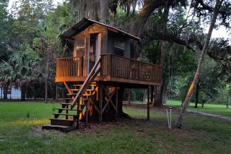 Private Apartment in Micanopy, minutes from UF - Micanopy - Byt