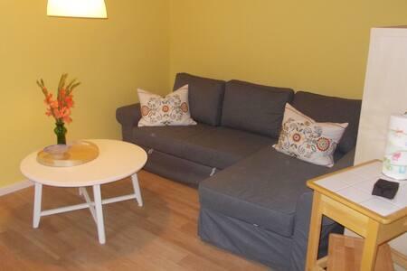 Gemütliches Appartement mit eingezäuntem Garten in Marlow