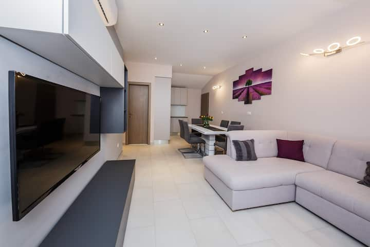 Two Bedroom Apartment with Terrace and Sea View