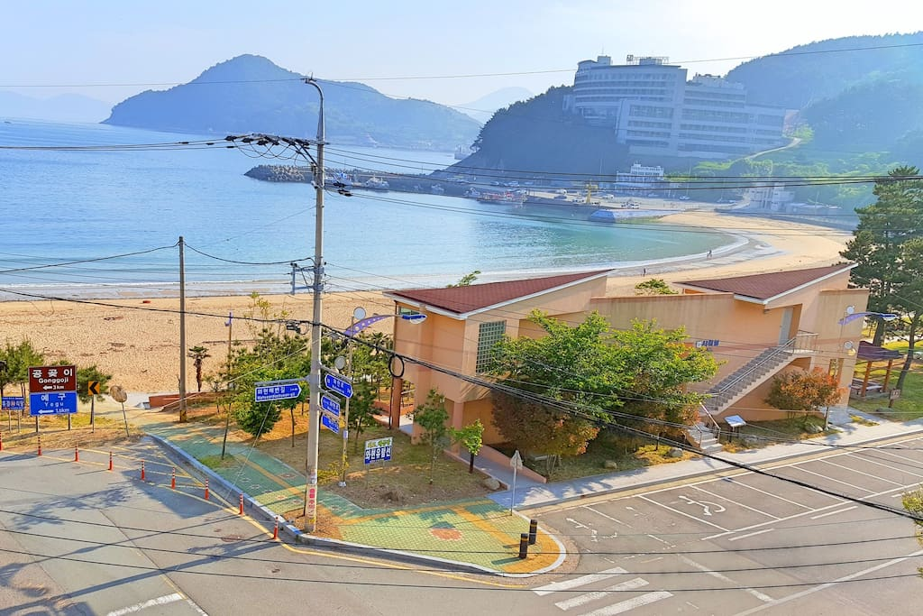 Beach on your doorstep and all activities, shops, restaurants etc nearby.