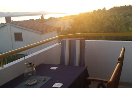 Charming place with great view close to the beach - Biograd na Moru - Διαμέρισμα