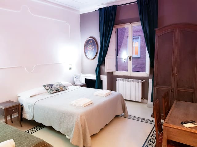 RomeForFun Guesthouse large room DOUBLE/TRIPLE