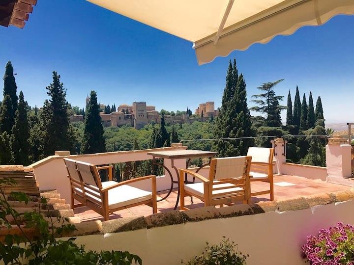 Duplex en Albayzín con espectaculares vistas