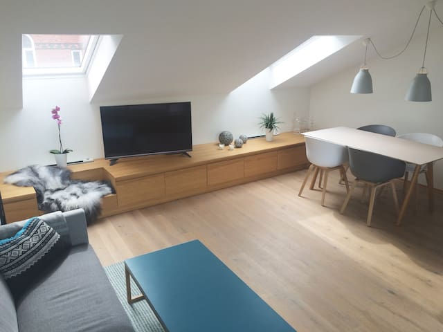 Central scandinaviandesign loft, w/private terrace - Oslo - Condominio