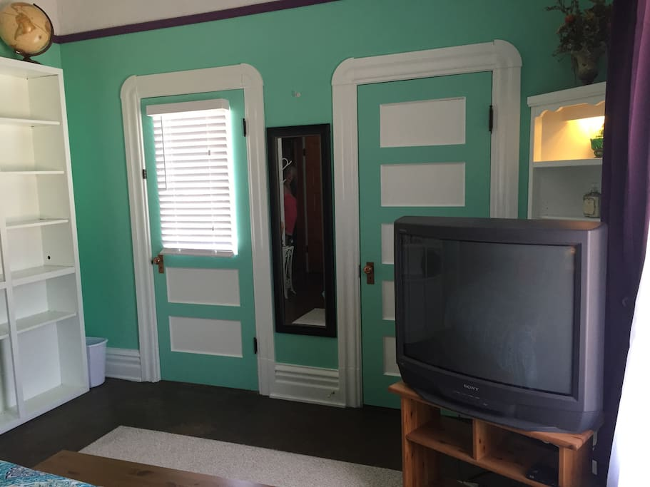 Widow's Walk and Large Walk In Closet