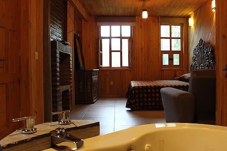 Cabaña Romanza Comfort. Cabañas Romanza del Bosque