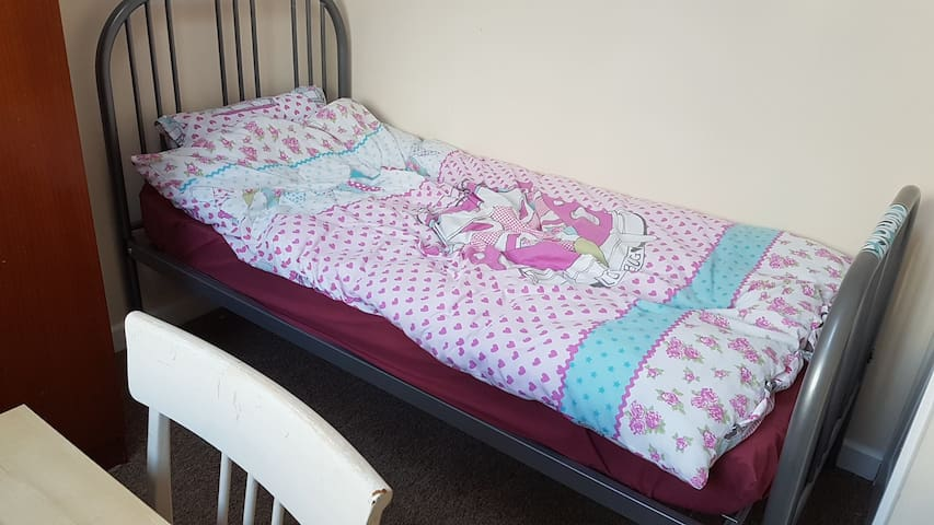 Welcoming clean single bedroom Bristol. Free parki