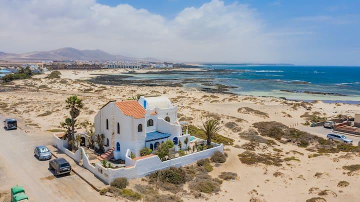 Casa en la playa la concha