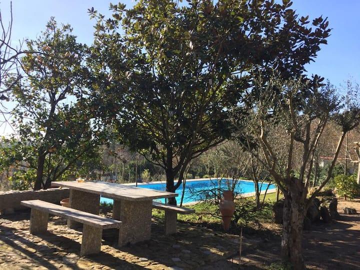Casa da Gandra, quinta com piscina de 25 metros