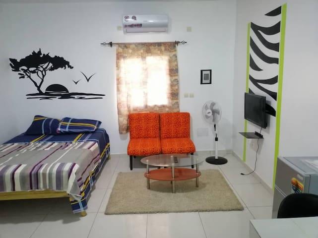 agréable studio meublé à Anono Riviera