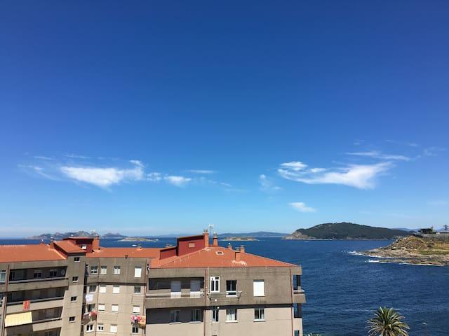 Piso en Bayona de 3 habitaciones con vistas al mar - Baiona - Appartement