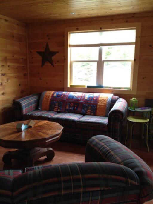 open concept livingroom/dining/kitchen