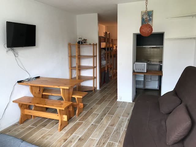 Grand appartement La Mongie centre