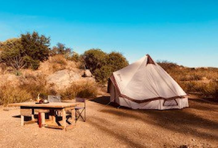 Himalayan Yurt Tent on 170 Acre Eco/Resort/Ranch