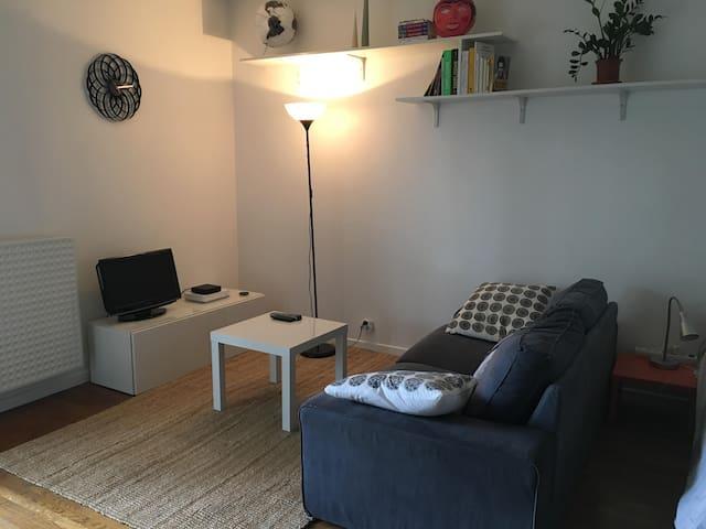 Studio dans une résidence calme et arborée