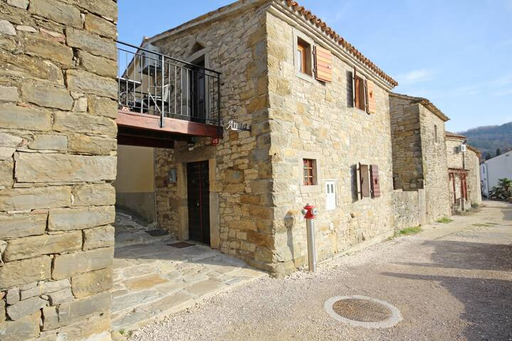 Sweet stone house