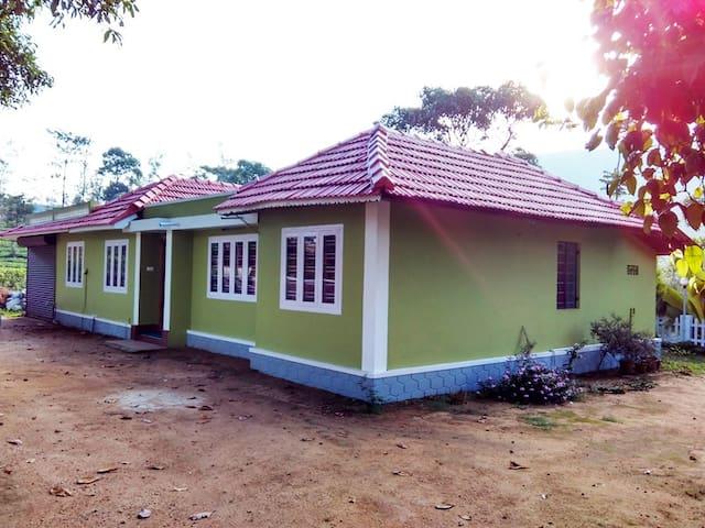Mistydreams Vagamon - Poonjar Nadubhagam - Pondok alam
