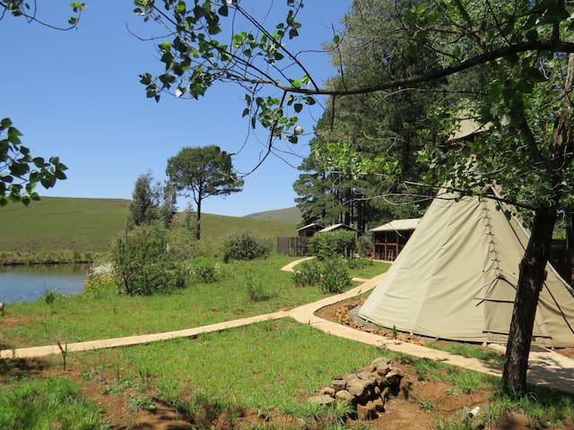 Crow Tepee @ Nguni Moon Tepee Camp