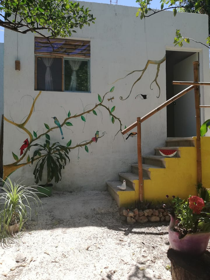 New Mayan bungalow, near chichén Itza , B&B