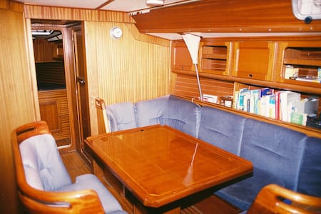 Voilier 12 m,  2 cabines doubles - Cannes