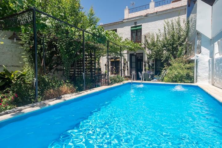 Great house near Granada and Sierra Nevada