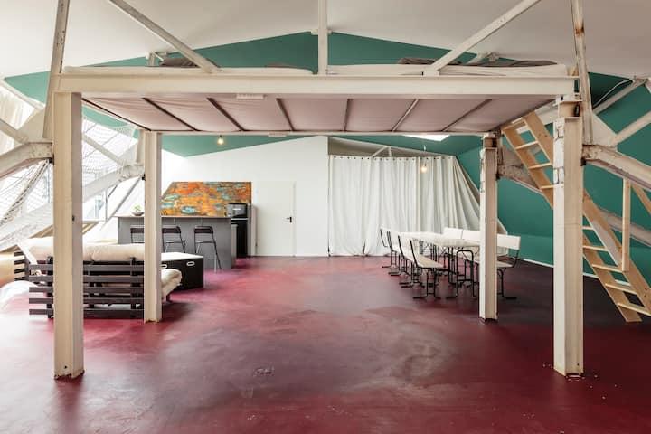 The Explorer's industrial designer loft