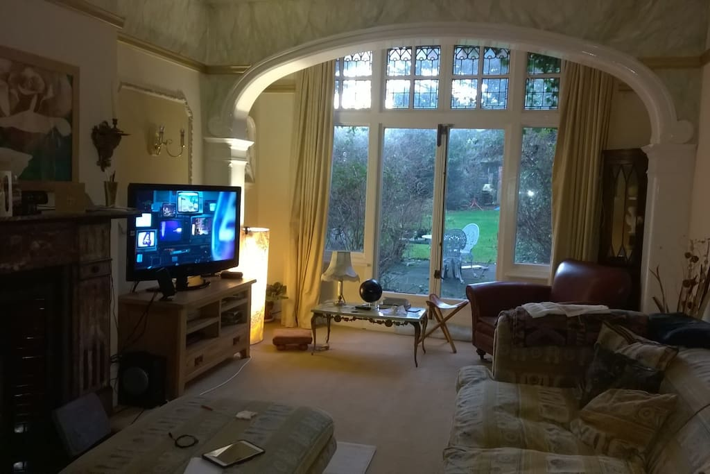 Comfortable living room to chill in