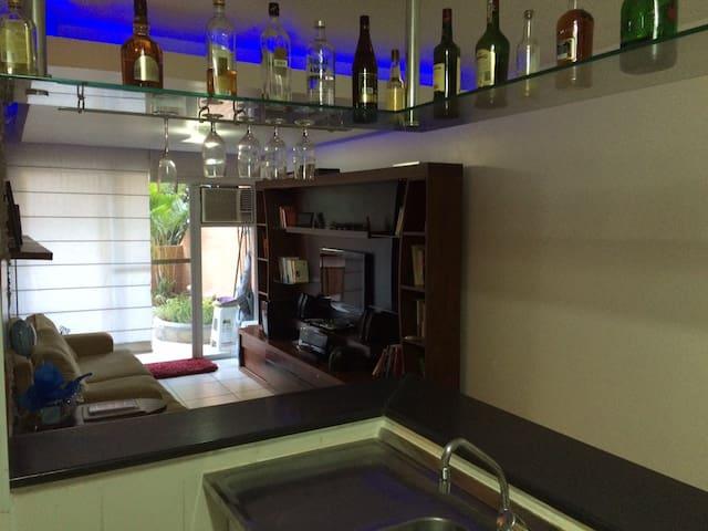 Quarto e sala no coração da Lapa - Rio de Janeiro - Apartemen
