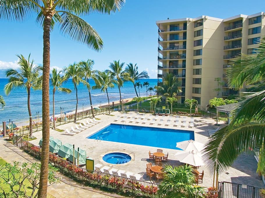 Ka'anapali Shores Resort is located at the North end of Ka'anapali Beach