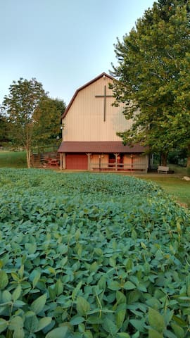 The Hallstead Barn-  A family gathering place.