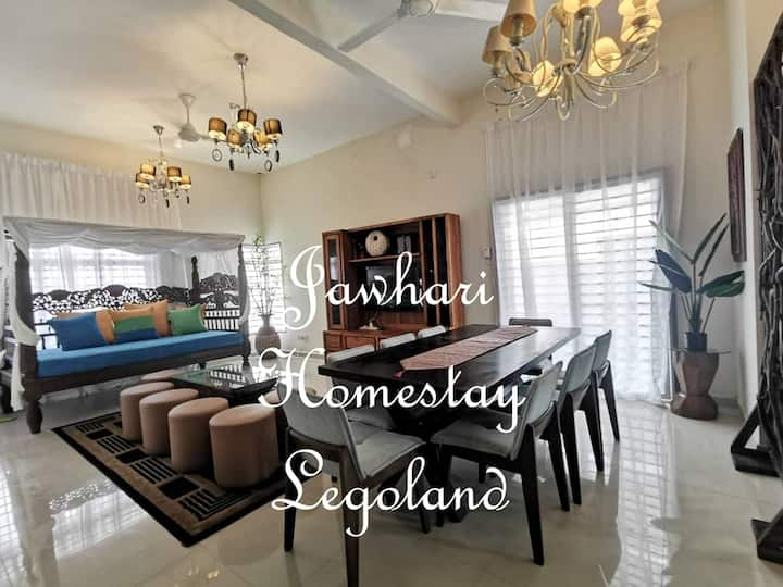 Jawhari Homestay Legoland Nusantara Prima FREE WIF
